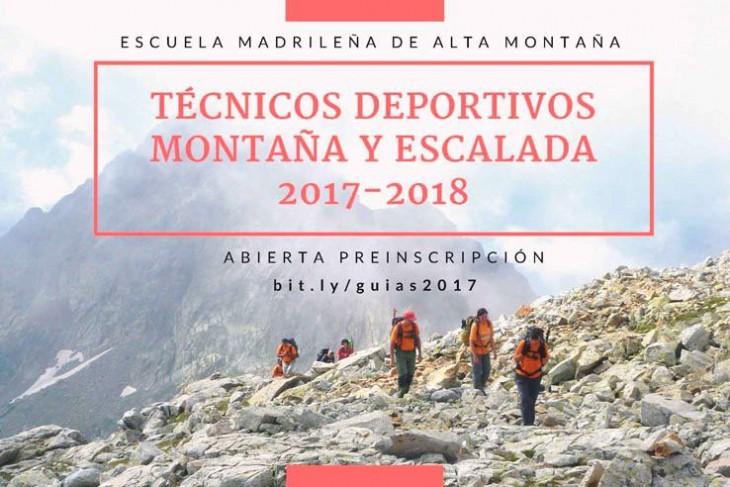 FORMACIÓN DE TÉCNICOS DEPORTIVOS MONTAÑA Y ESCALADA